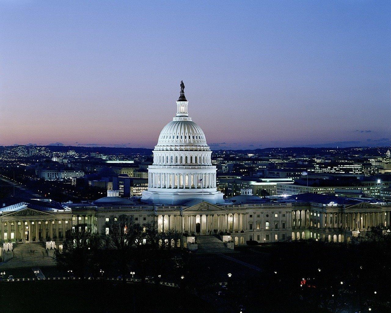 Washington DC capital government building